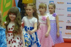В Сыктывкаре прошел модный показ для детей
